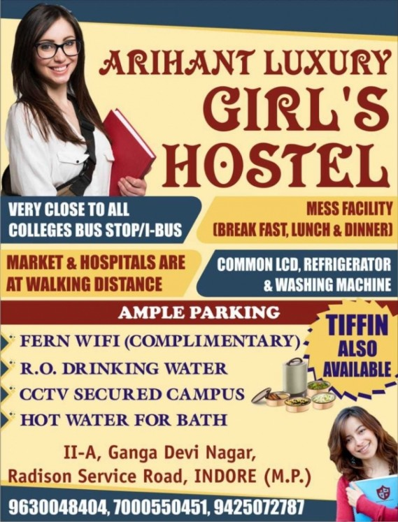 Arihant Girls Hostel